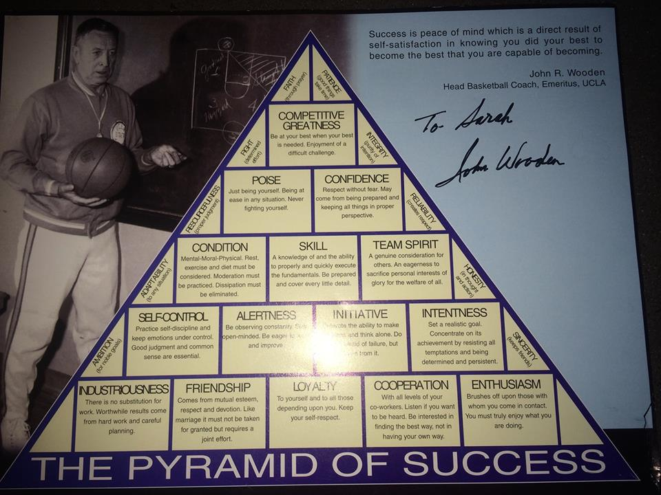 Sarah Palin Points To John Wooden Pyramid As Map For 2014 Success