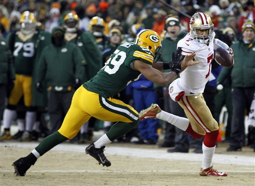 49ers Send Green Bay Packing in Frigid 'Ice Bowl'