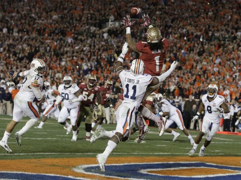 Auburn-FSU Only Gets 9th-Highest Rating in BCS Championship Game History