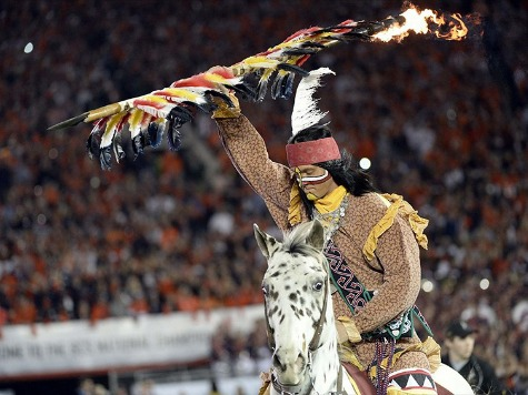 Opinion: Everything's Political:Liberal Nation Magazine Freaking over 'Racist Mascot' Winning BCS