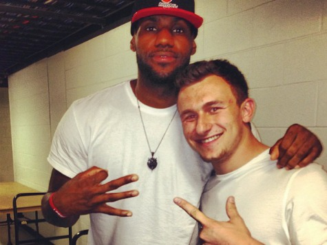 Johnny Football Declares for Draft, Hires LeBron's Marketing Team