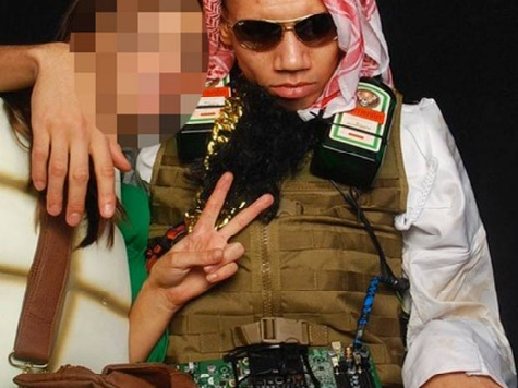 English Soccer Star Apologizes for 'Insensitive' Suicide Bomber Costume