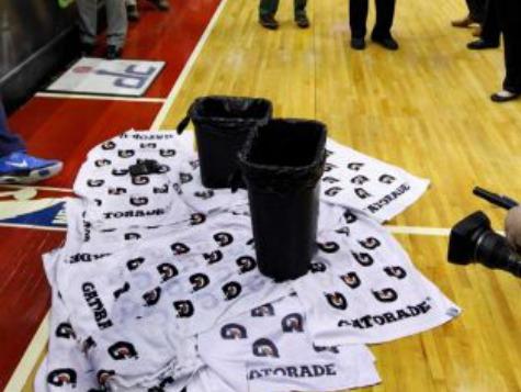 NBA Rain Delay: Leaky Roof Mars Rockets Win over Wizards