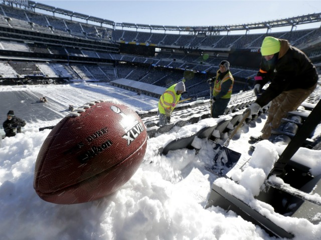 America Endures Coldest Month of Century, Broncos & Seahawks on Alert