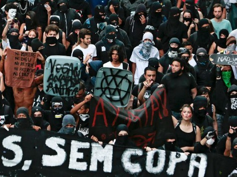Violent Anti-World Cup Protests in Brazil