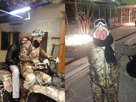 Braves Legend Chipper Jones Rescues Ex-Teammate on Four-Wheeler in Atlanta Snowstorm