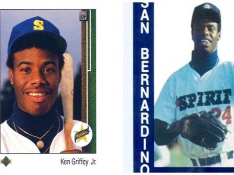 Iconic Ken Griffey Jr. Upper Deck Card Was Photoshopped