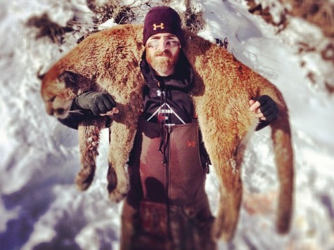 Nationals Star: I Killed Mountain Lion with Bow and Arrow, Ate It, Pissed Off Animal Rights Groups