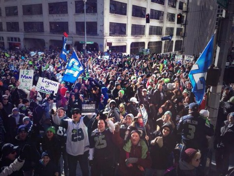 500K Expected for Seattle Seahawks Victory Parade