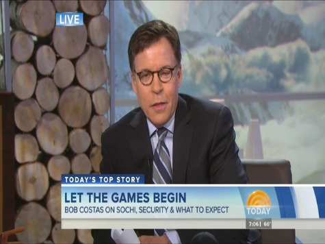 Costas Starts 2014 Sochi Winter Olympics With Eye Infection