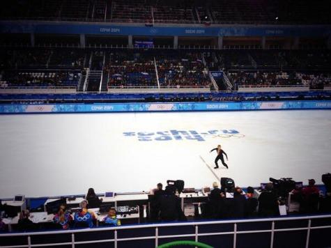 Half-Empty Stadium for Russian Figure Skating Star