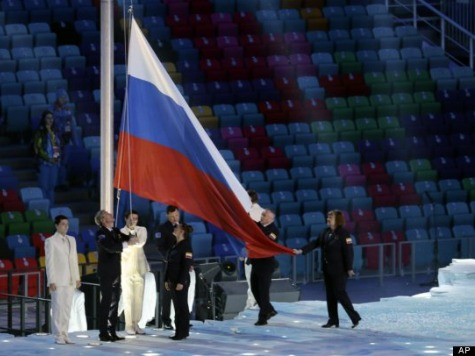 Sochi Olympics 2014: Viewers See Empty Seats During Russian National Anthem