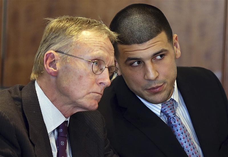 Judge keeps ex-NFL star Hernandez's jail calls off limits