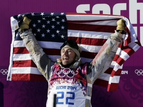 First Winter Olympics Gold Goes to American Snowboarder Sage Kotsenburg