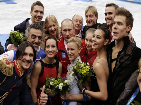 Russia Wins First Gold Medal at Sochi Winter Olympics