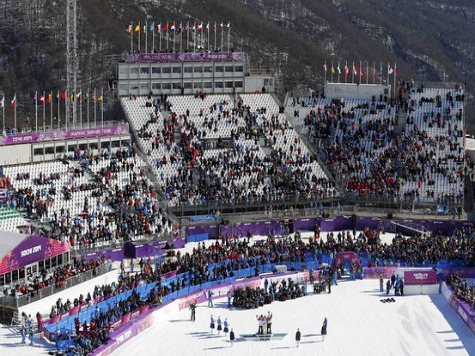 Russia Fills Sochi Arenas With Volunteer Workers