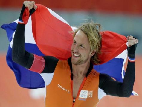 Sochi 2014: Netherlands Sweep Men's Speed Skating 500m