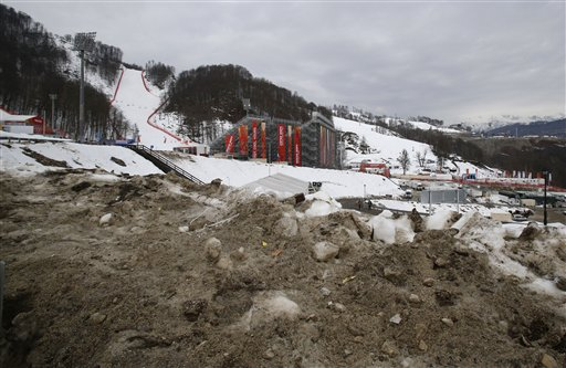 Sochi Chief Says No Need to Use Stored Snow… Yet