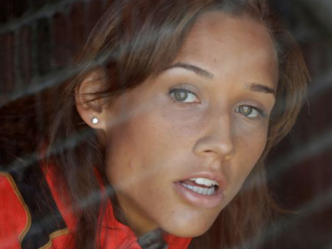 Lolo Jones Out of Quarantine, Wishes Stray Dog Had Kept Her Company