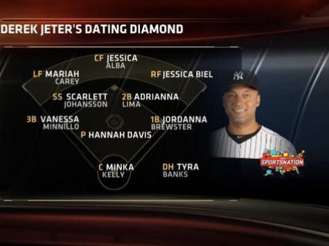 Derek Jeter's 'Dating Diamond'