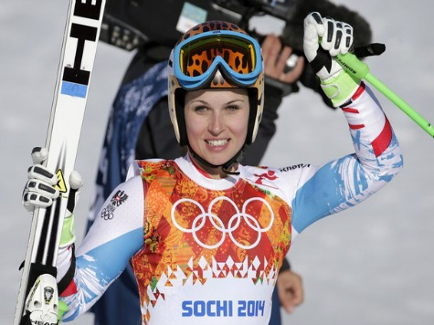 Sochi 2014: Austria's Anna Fenninger Wins Women's Risky Super-G