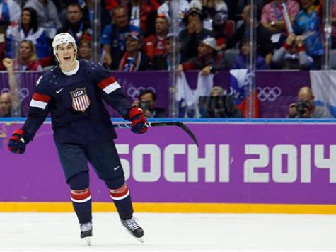 US Hockey Hero TJ Oshie: Real Heroes 'Are Wearing Camo. That's Not Me'