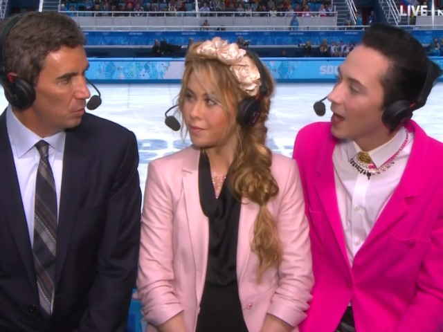 Gay CNN Host on Johnny Weir: 'No One Likes a Gay Minstrel Show'
