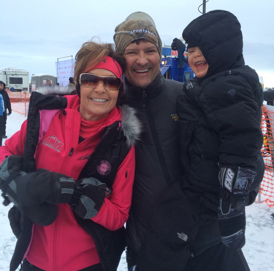 Family Matters: Todd Palin Back from Iron Dog a Championship Dad