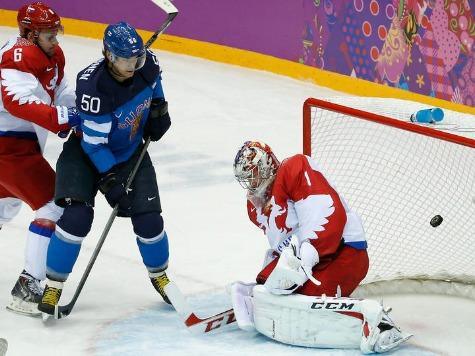 Finns Oust Russian Hosts from Hockey Tournament