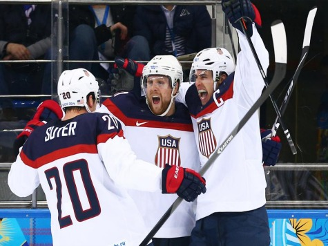 Sochi 2014: US Men's Hockey Beats Czech Republic, Advances to Showdown with Canada in Semis
