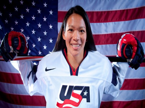 Sochi 2014: US Hockey Player Julie Chu Will be Flag Bearer at Closing Ceremonies
