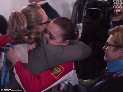 Controversial Russian Judge Caught Embracing Gold Medalist Backstage After Home-Ice Win over Yuna Kim