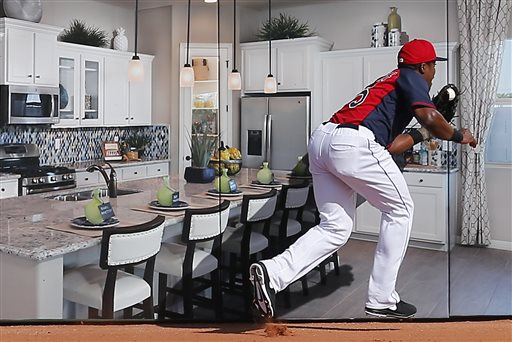 MLB Prospect Becomes Household Name with 'Kitchen Catch'