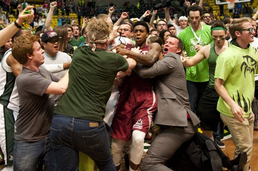 WAC Suspends Two Players for Postgame Brawl