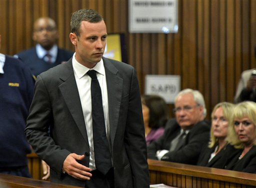 Oscar Pistorius Pleads Not Guilty at Start of Trial