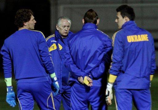 Ukrainian Soccer Team United Despite Turmoil at Home