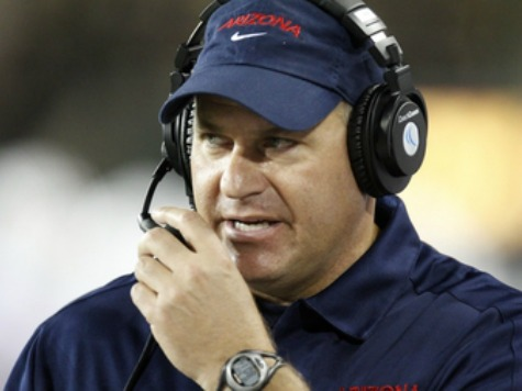 Rich Rodriguez Stars in 'Speed': Arizona Coach Mocks His Peers in Spoof Ridiculing Slow-Down Rule
