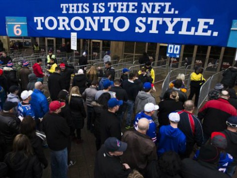 Bills Will Not Play Home Game in Toronto in 2014