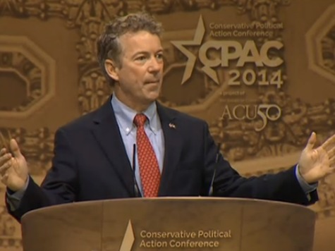 **CPAC Live Updates** Rand Paul: 'We Will Not Trade Our Liberty for Security; Not Now, Not Ever'