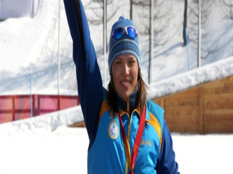 Ukraine's First Medalist at Sochi Paralympics Dedicates It to Peace, Independence