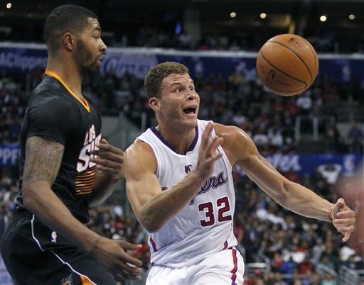Blake Griffin's 37 Points Sail Clippers Past Suns