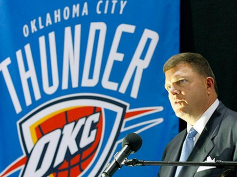 OKC Thunder Owner Joins T.W. Shannon for Senate Campaign After Palin Endorsement