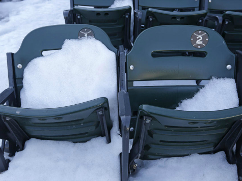 Snow Out: Wintry Weather Cancels Twins-Blue Jays