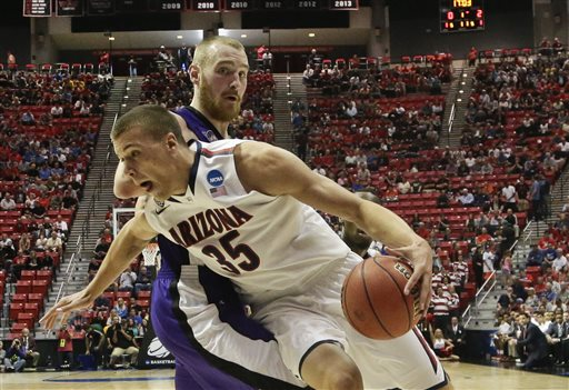 West: No. 1 Arizona Sluggish in Win over No. 16 Weber State