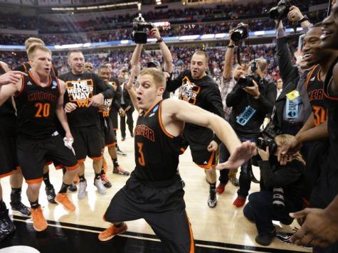 Mercer Player Does 'Nae Nae' Dance After Shocking Duke
