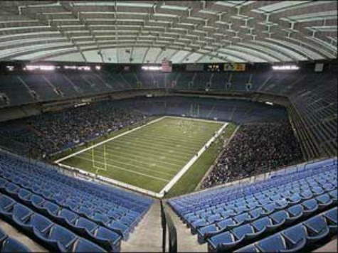Everything Must Go! Pontiac Silverdome Auctions Off Old Urinals, Seats, Endzones