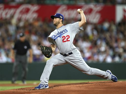 Kershaw, Dodgers Top D-backs in MLB Opener in Australia