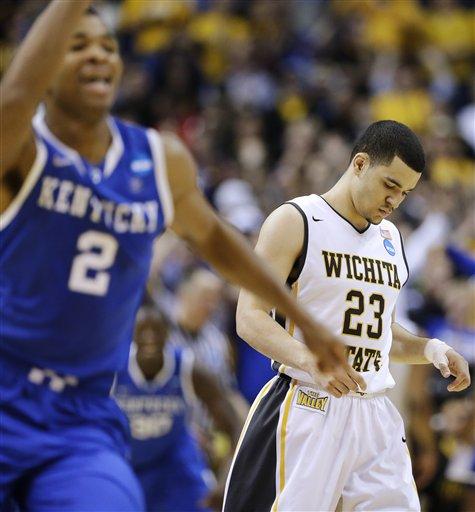 Midwest: No. 8 Kentucky Ousts No. 1 Wichita State