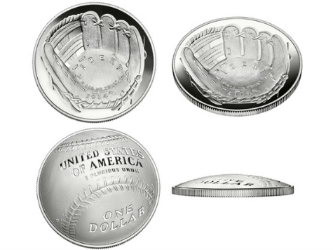 Baseball Fanatics and Numismatics Unite! US Mint Strikes Curved Coin