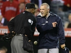 Joe Girardi: Ump Gave Me the 'Mutombo'